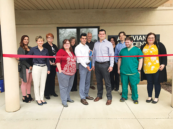 Mimi Vanderhaven | At the new Alleviant Health Centers of Akron