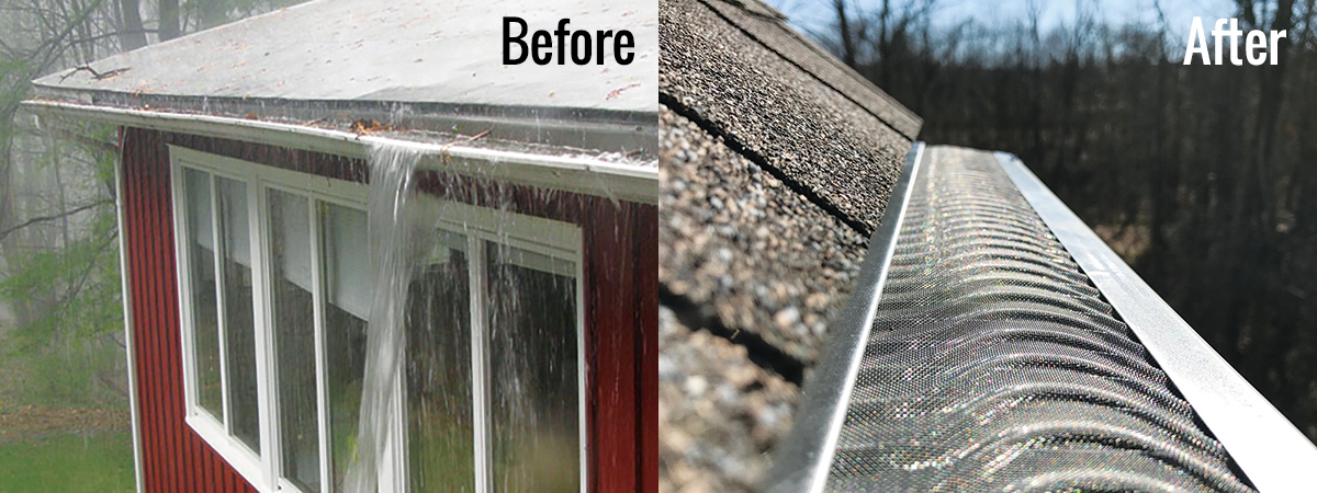 Mimi Vanderhaven   With Valor Gutter Guards from The Gutter