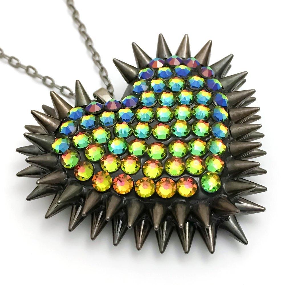 V2-Classic-Spiked-Pavéd-Heart-Necklace-Vitrail-Black.jpg?mtime=20170908145359#asset:36974