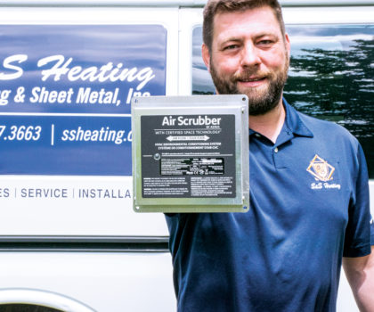 S&S Heating, Cooling and Sheet Metal can turn your HVAC system into an air cleaning machine
