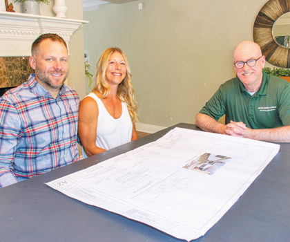 Look no further, Jack Dever, owner of Dever Design & Build, is the one