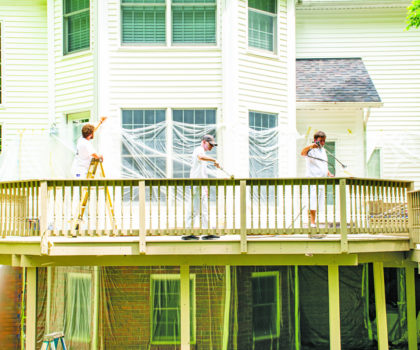 If your deck needs attention, get on the schedule to have it cleaned, stained and refinished by Chagrin Home Improvements