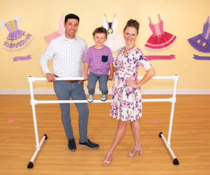 At Tutu School Akron, kids can twist and twirl to their heart's content while developing a love of dance