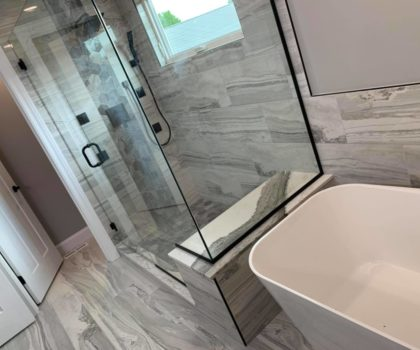 Custom showers by Floorz