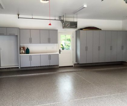 If you're thinking about tackling your own garage floor project, consider hiring the professionals instead