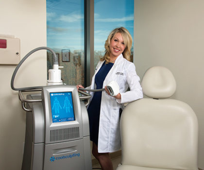Freeze the fat away, with CoolSculpting from Apex Dermatology
