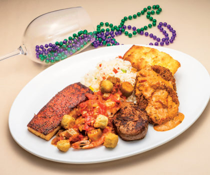Salmon Dave's Taste of N'awlins Celebration is going on right now