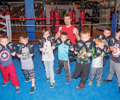 Fit Kids classes at Empowering Punch