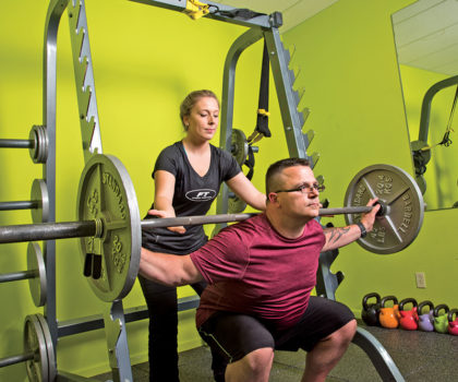 Clients who have previously failed at other gyms succeed at Fitness Together