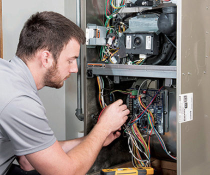 It's clean and  tune-up time for your indoor comfort system