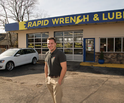 Brunswick's Rapid Wrench & Lube offers more than just an oil change