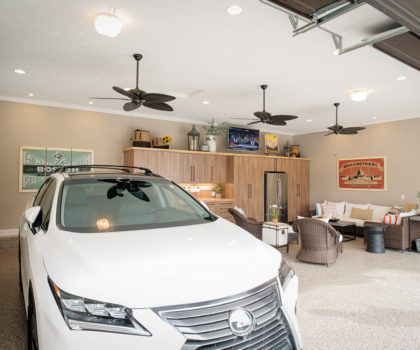 According to Ohio Garage Interiors, the garage is quickly becoming the new front door