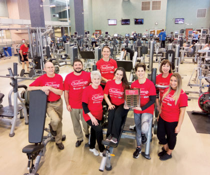 The Fitness Center at University Hospitals Avon Health Center is raising the stakes for the annual community challenge