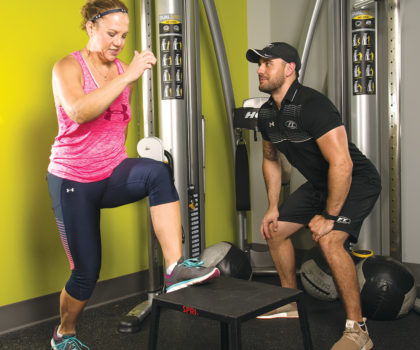 Building strength at Fitness Together in Bay Village