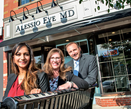 Alessio Eye MD promises full-service eye care in a relaxed, hometown setting