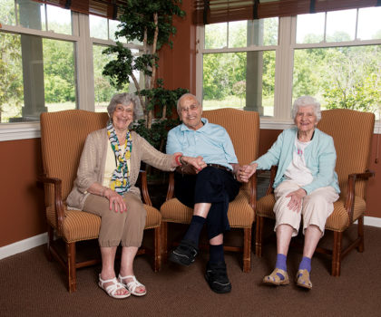 No matter where a person is on the aging spectrum, he or she has a home at Aberdeen Crossings
