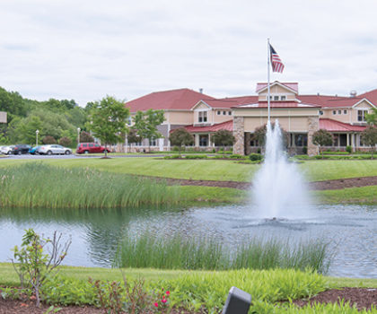 The staff and residents at Aberdeen Crossings Assisted Living are in tune with getting the most out of life