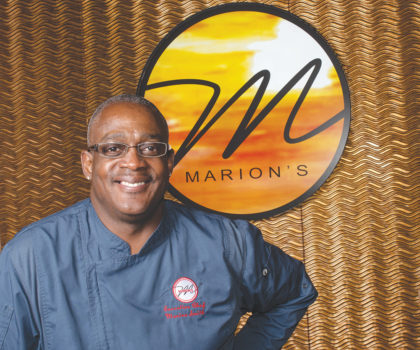 At the freshly anointed Marion's Mediterranean Restaurant and Tapas Bar, Chef Marion Smith flexes his creative culinary muscle