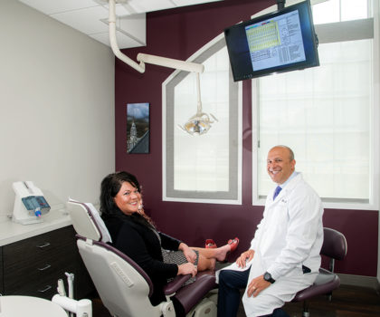 Dental care and moms