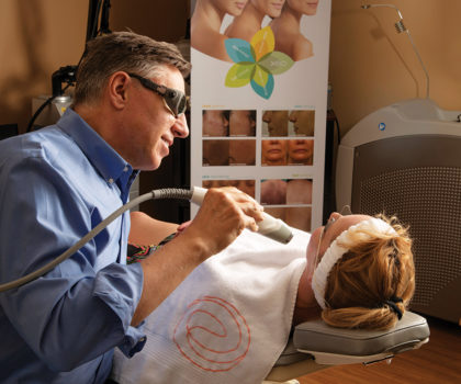 Dr. Jeffrey Christian joins his wife, Dr. Stefanie Christian, in practice at Timeless Laser & Skin Care