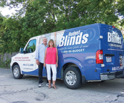 Budget Blinds is now offering fashionable window treatments that are cord free