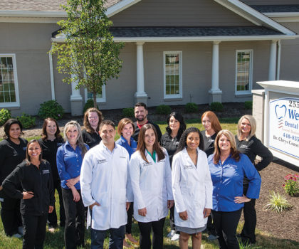 Westlake Dental Associates puts the finishing touches on an expansion and introduces a new member of the medical team