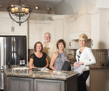 You know the Guhde name for flooring, but now it's becoming synonymous with complete kitchen and bathroom makeovers