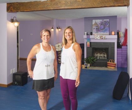 The Barn Wellness Center brings the yin of wellness with the yang of physical fitness together in one community-centric oasis
