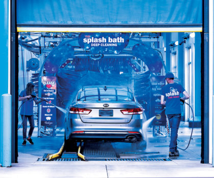 Splash Car Wash, the amusement park of car washes, is about to get a whole lot more fun