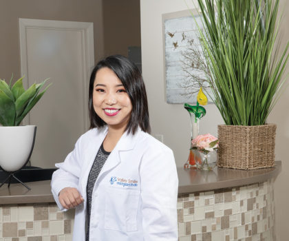 Dr. Anqi Hu is now a part of the growing practice at Valley Smile and Implant Studio