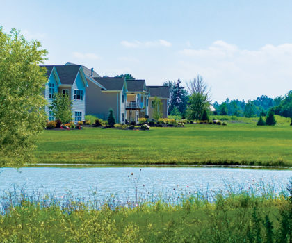 With golf course or lake views and homes starting in the $300,000s, there's never been a better time to start over—in Mallards Edge