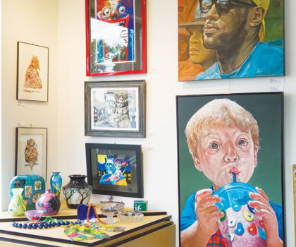 An abundance of original art and more inspire at The Art Gallery in Willoughby