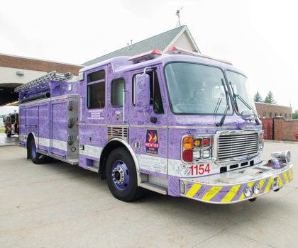 Lavender is the new pink: Mentor Fire unveils a beacon of hope, Comfort 54