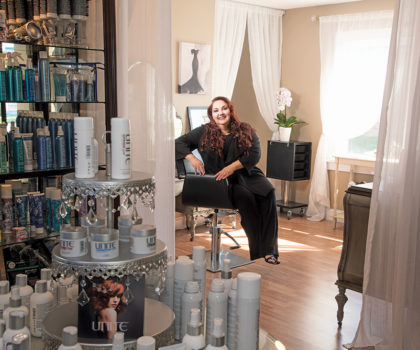 At ExecuStyle Salon, owner Contessa Michel creates the latest looks