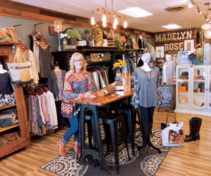 The new Madelyn Rose Boutique is a go-to source for wardrobe statement pieces and more