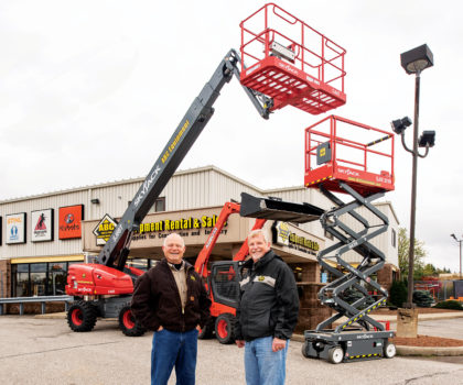 ABC Equipment Rental & Sales helps contractors finish every job safely, efficiently, on budget and on time