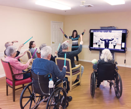 Symphony at Olmsted Falls residents are part of a pilot program designed to improve quality of life
