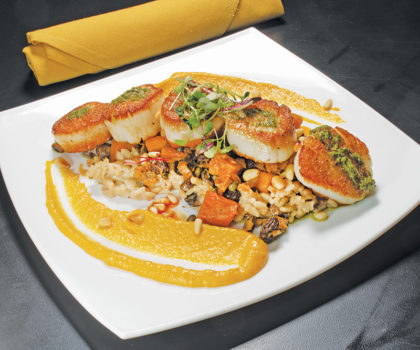 Downtown Akron's Crave has an eclectic menu filled with surprises