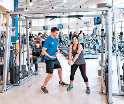 The Mandel JCC is one of the top fitness facilities in the region