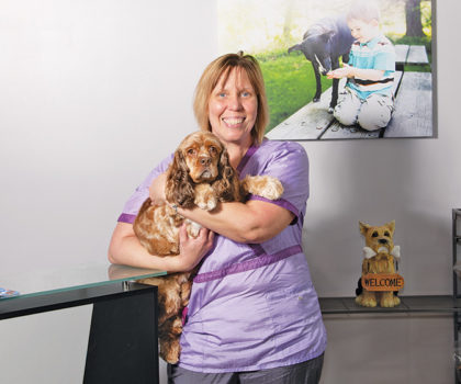 The passionate professionals at Awesome Paws Pet Salon customize every grooming experience