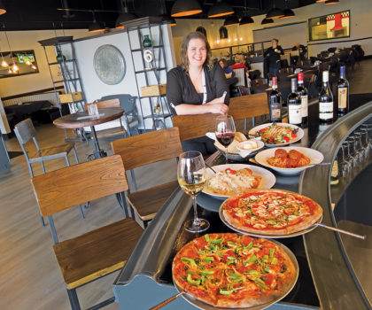 The Brick Oven boldly puts their own spin on traditional Italian and Eastern European cuisine