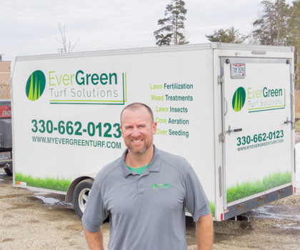 Correy Petz's EverGreen Turf Solutions is extending its 10% off military and first responder service discount