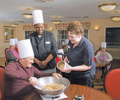 The Symphony of Olmsted Falls Day Club is a program is dedicated to help caregivers