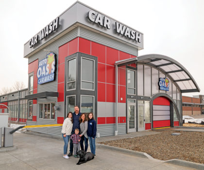 The new Wadsworth Auto Oasis promises the ultimate car cleaning experience