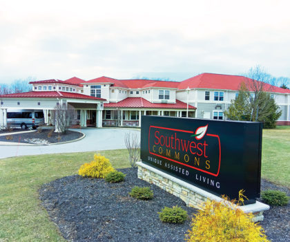 SouthWest Commons Assisted Living offers residents independence, privacy, dignity and choice, right here in Strongsville