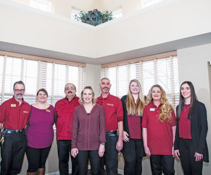 SouthWest Commons Assisted Living creates the feeling of being at home with family