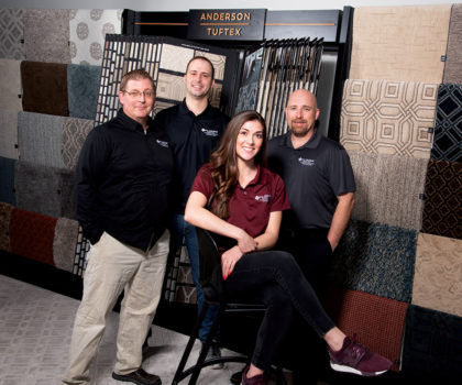 With the launch of the newest Floorz design center in Strongsville, Brian Erickson and his team are determined to be underfoot in every home in the area
