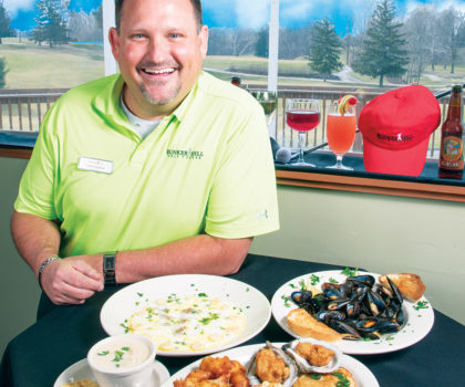 The Bunker's Grill Easter Buffet is a perfect way to relax and enjoy the day. But that's not the only reason to visit this popular golf course-based eatery