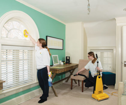 Get ready for the holiday season with a deep house cleaning or weekly cleaning service