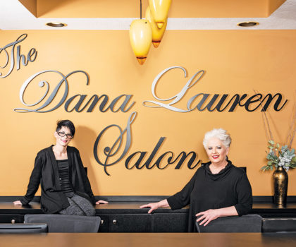 The reimagined Dana Lauren Salon & Spa looks and feels up to the minute with products and services to match
